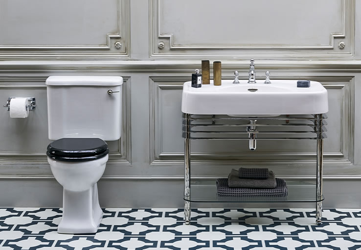 onepercent classic bathrooms style